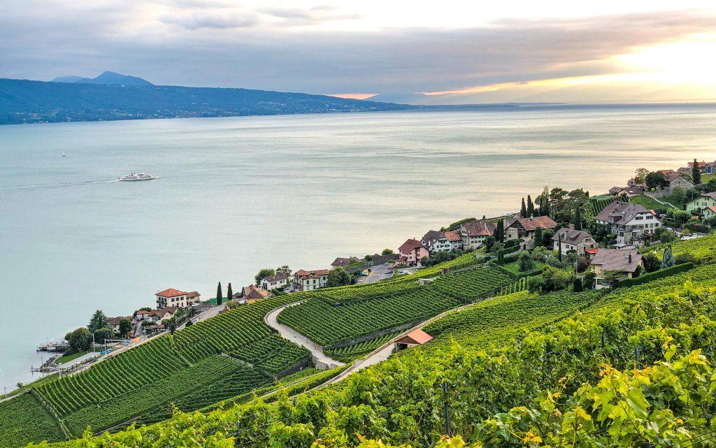 UNESCO vineyards Lake Geneva Switzerland