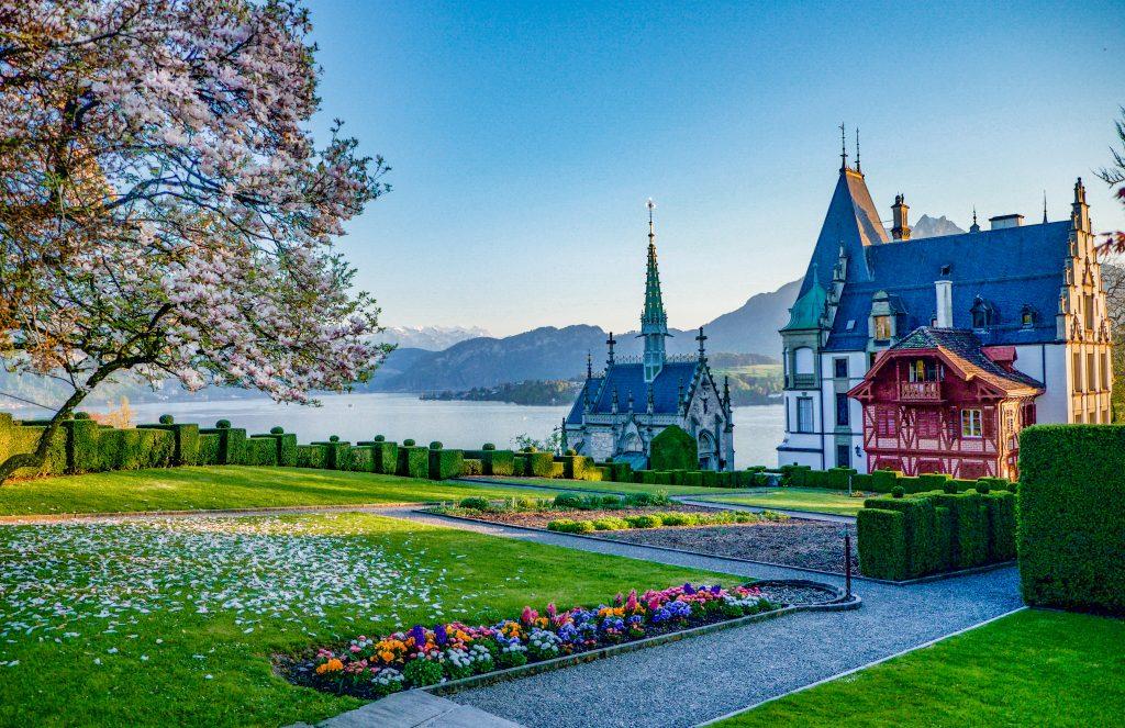 Schloss Mengen Switzerland Lake Luzern