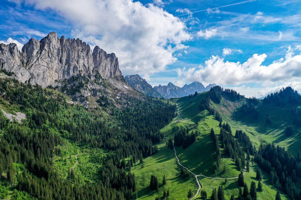 Gastlosen Alps Pays d'en Haut Switzerland