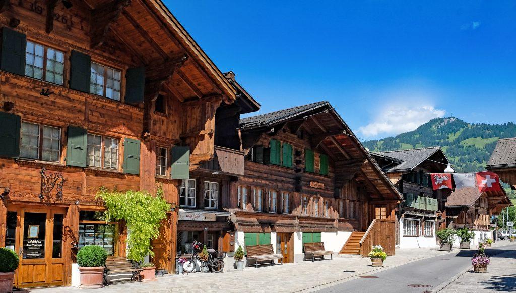 Saanen Berner Oberland Switzerland