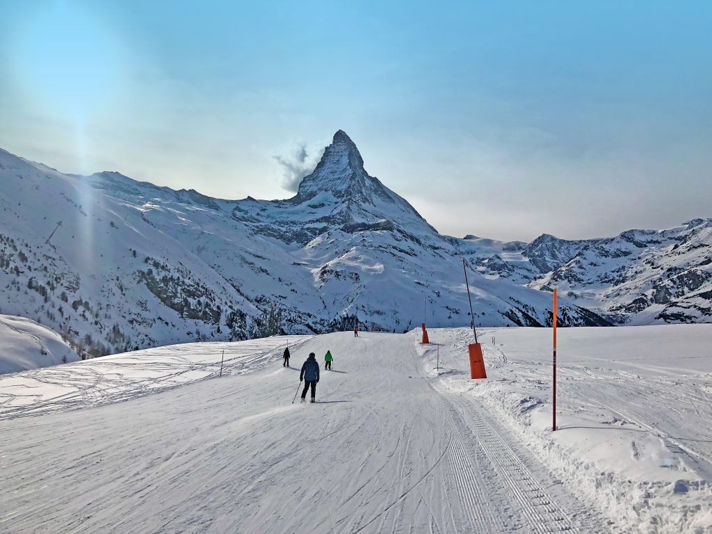 Matterhorn Zermatt Switzerland Ski Resort