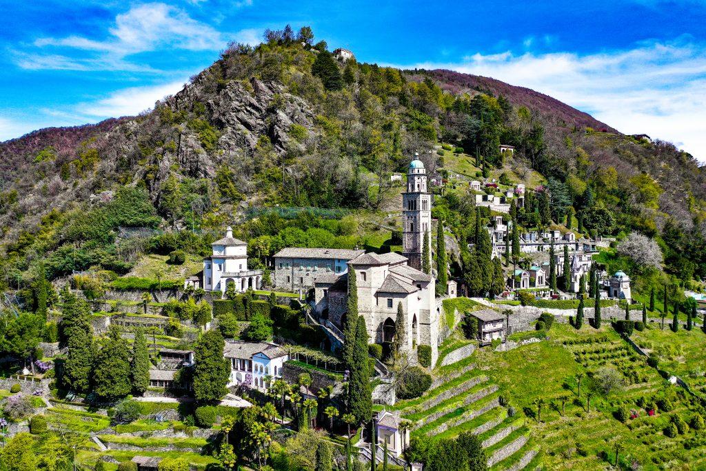 Morcote, Ticino, Switzerland