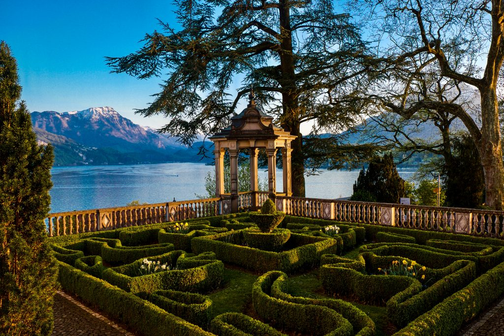 Schloss Meggenhorn Lake Luzern Switzerland