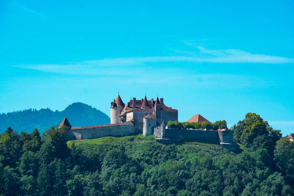 Chateau de Gruyere Switzerland
