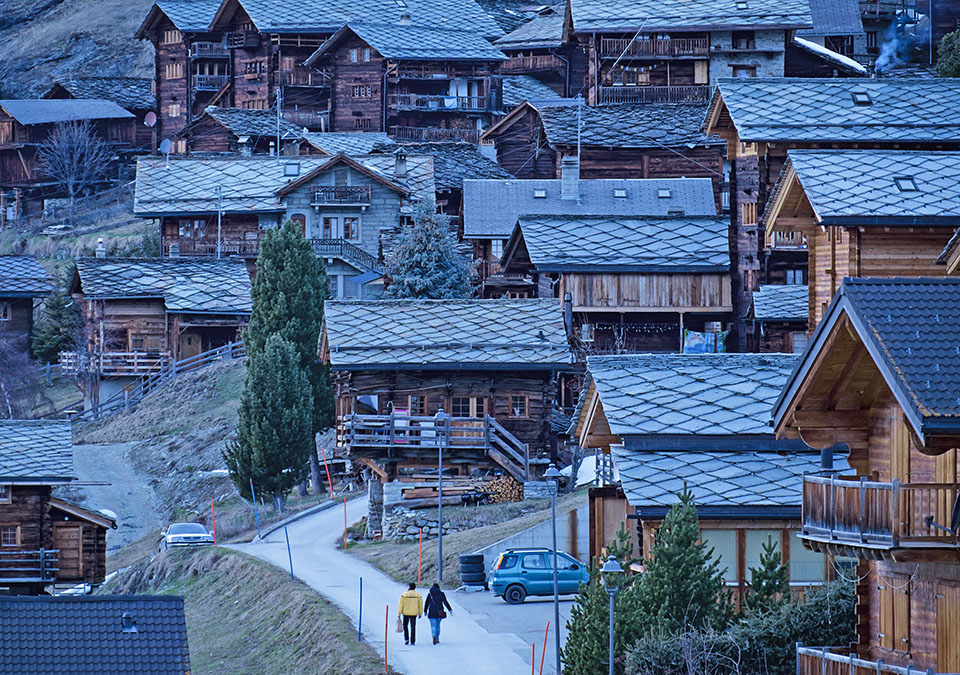 Val d'herens Valais Switzerland
