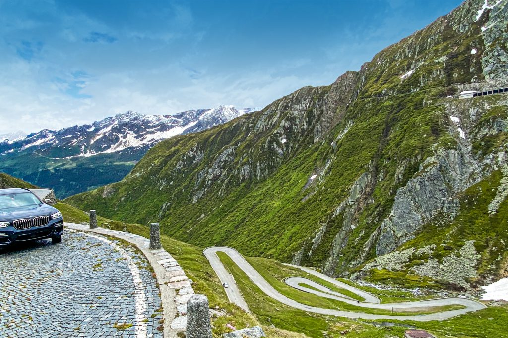 Gotthard Mountain Pass Switzerland