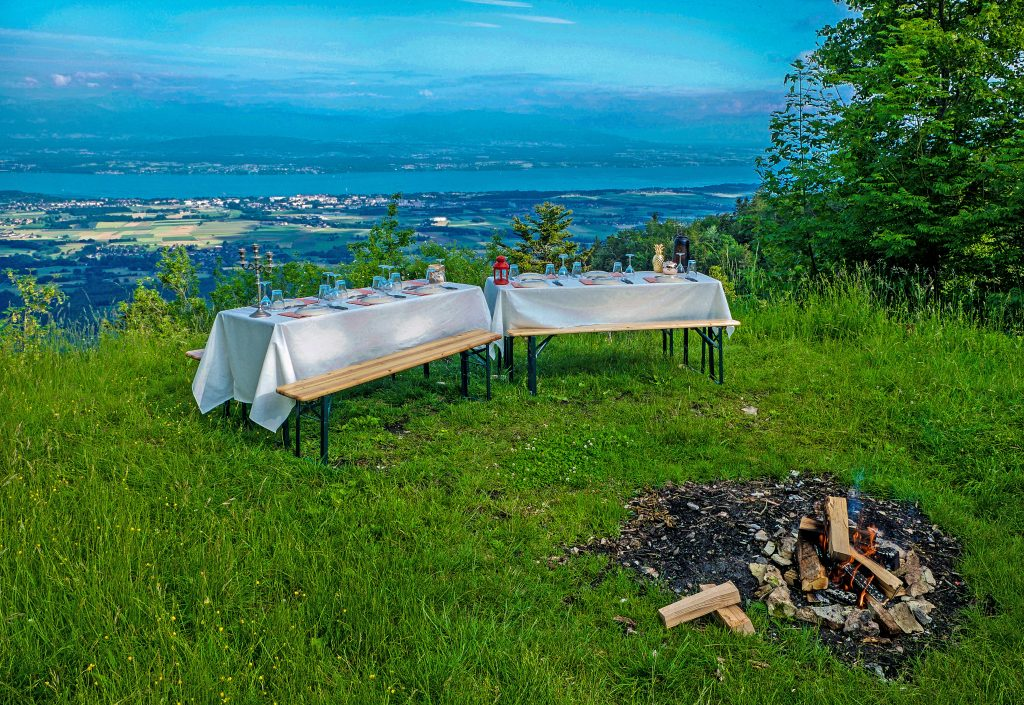 Private Event Outdoors Lake Geneva Switzerland