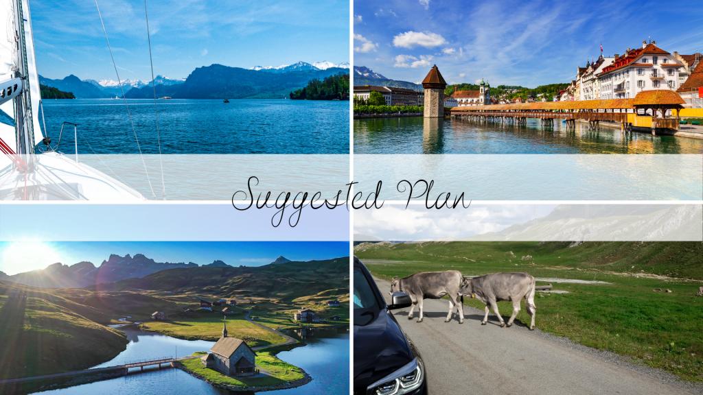 Sample Itinerary Switzerland - Chantal & Max Switzerland Travel Design  - Lake Luzern