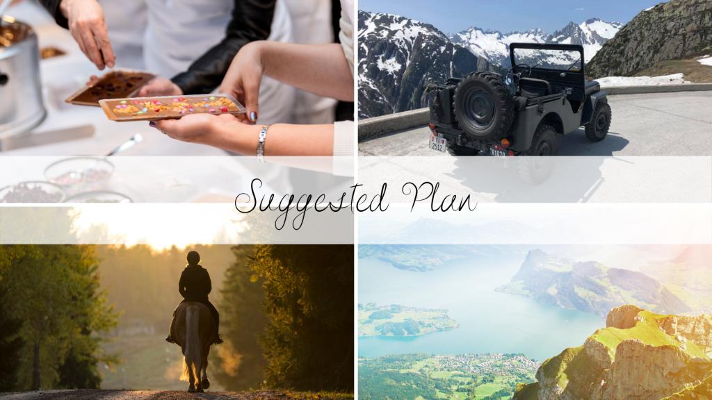 Sample Itinerary Switzerland - Chantal & Max Switzerland Travel Design