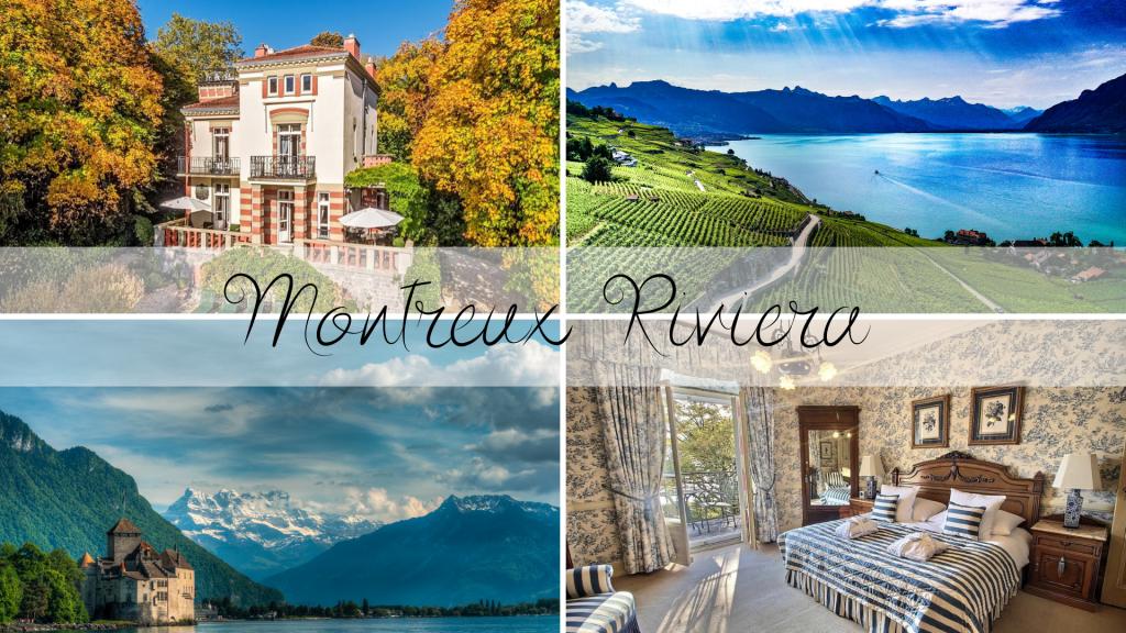 Montreux Riviera in Switzerland