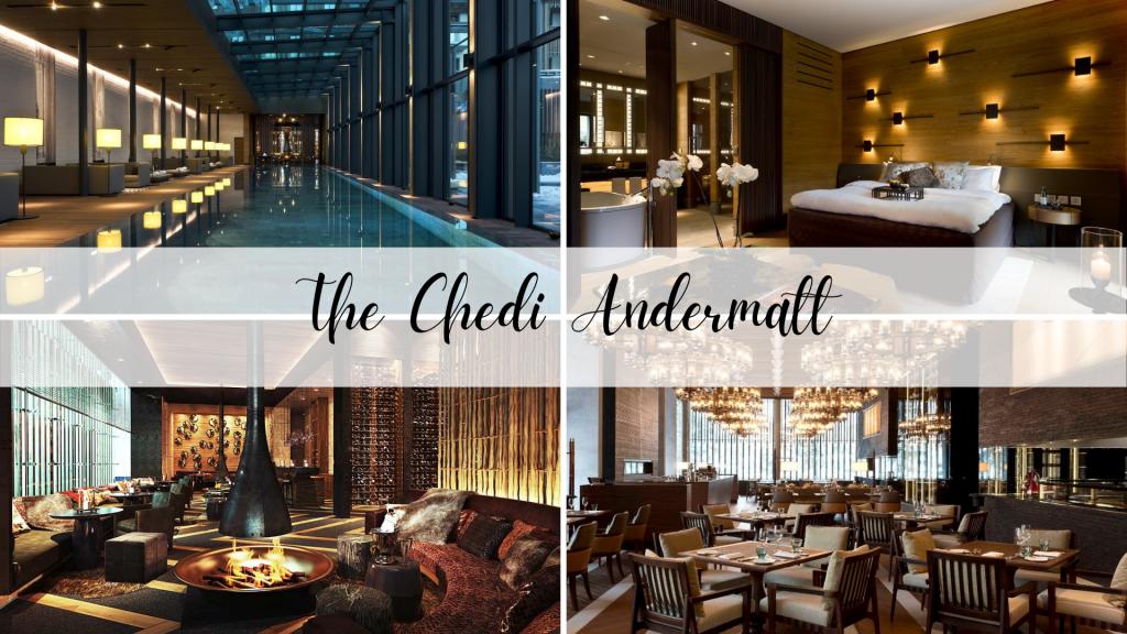 The Chedi Hotel in Andermatt, Switzerland