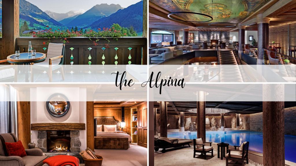 The Alpina Hotel in Gstaad Switzerland