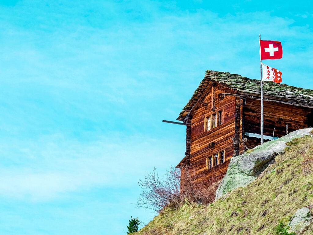 Swiss Chalet Valais Switzerland