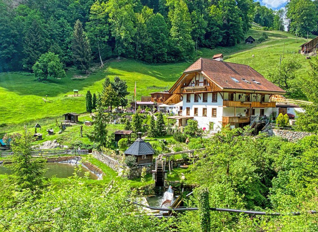 Grabbenmuhle Sigriswil Switzerland
