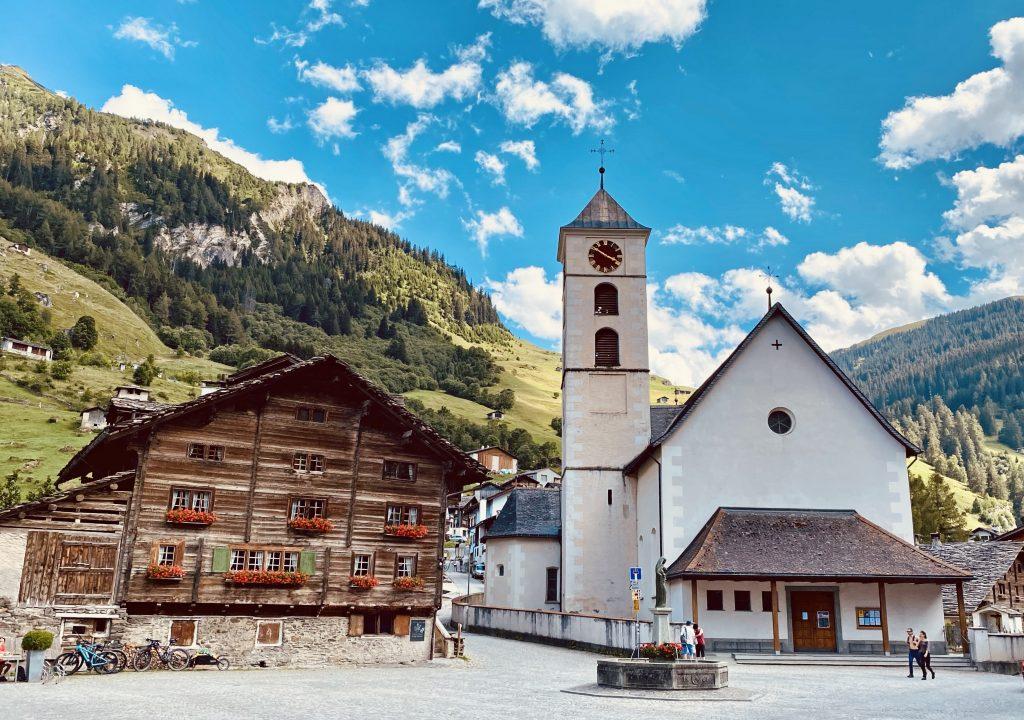 Vals Graubunden Switzerland