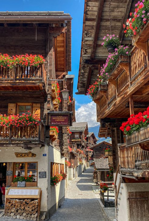 Grimentz Val d'Anniviers Switzerland