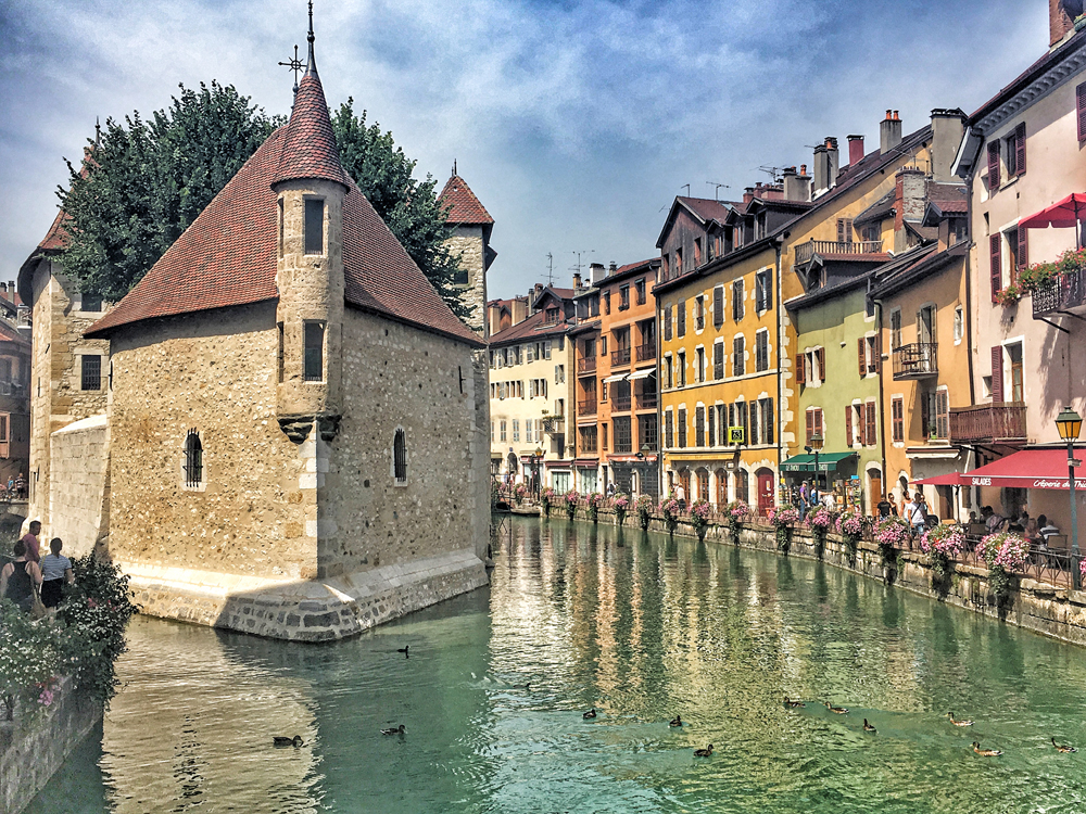 Annecy France Old Town