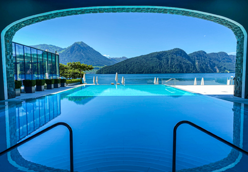 Lake Luzern Park Hotel Vitznau Switzerland