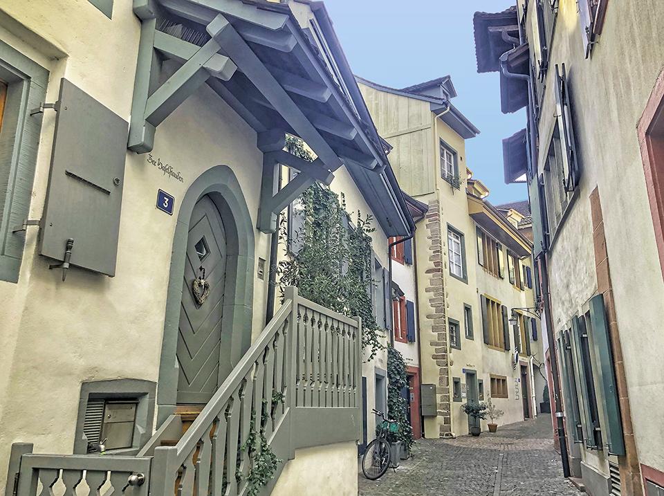 Streets of Basel Switzerland