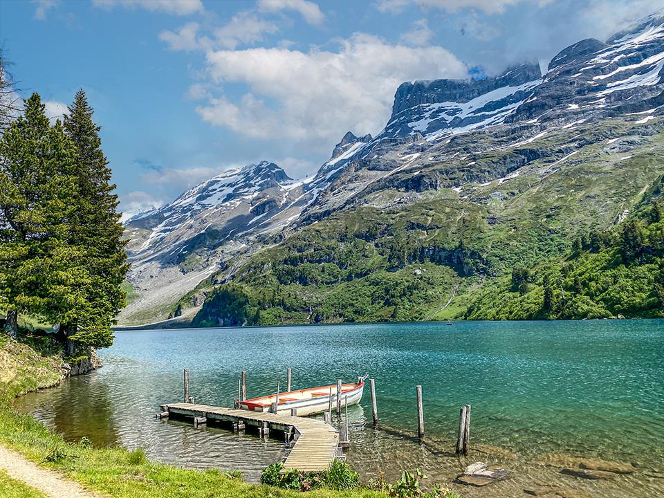Lake Switzerland Swiss Alps