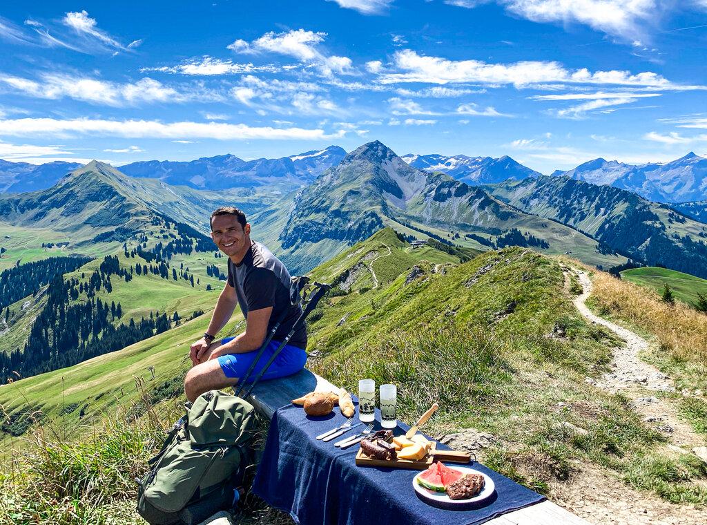 Horneggli Hike Gstaad Saanenland Switzerland