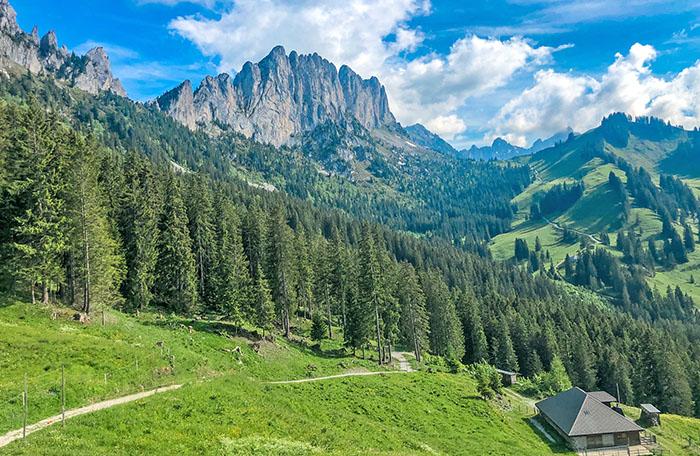 Gruyere Gastlosen Swiss Alps Switzerland