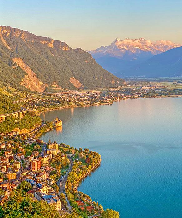 Montreux Riviera Switzerland