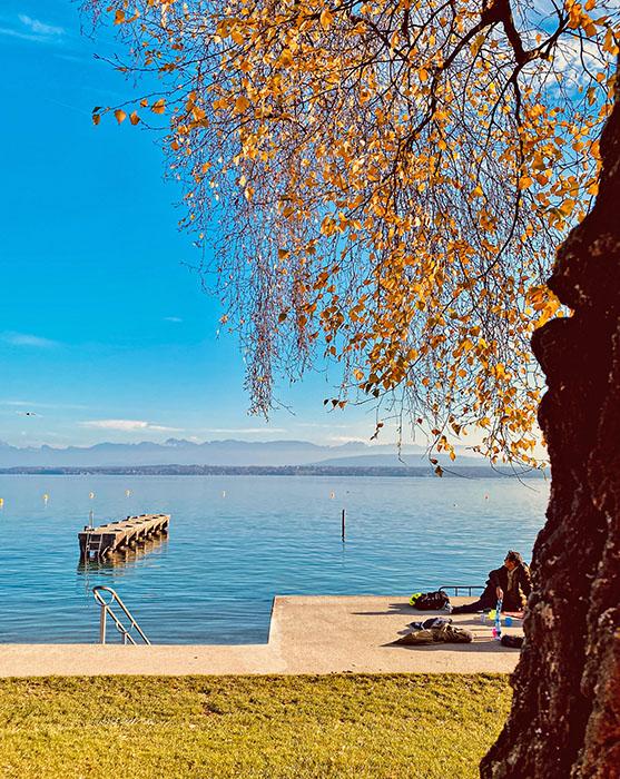 Nyon Lake Geneva Switzerland